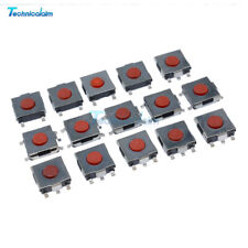 100PCS SMD Tactile PushButton Key Switch Momentary Tact 4 Pins 6x6x2.5mm