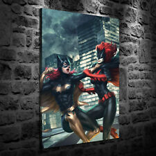 HD Print Oil Painting Decor Art On Canvas New Batgirl 12x18inch Unframed