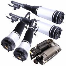 5xStücke Komplette Luftfederung + Kompressor Für Mercedes S Klasse W220 airmatic