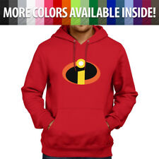 Disney The Incredibles 2 Logo Symbol Costume Pullover Sweatshirt Hoodie Sweater