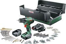 Bosch PSR 1440 LI 2  Akku Bohrschrauber 2 Akku 1,5 Ah Toolbox 241 tlg. Zubehör
