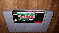 DISNEY'S THE JUNGLE BOOK VIRGIN SUPER NINTENDO SNES EXMT GAME CARTRIDGE