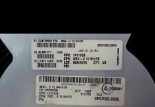 LOT OF (1,000) NEW VISHAY Wirewound  SMT RESISTOR 10 Ω 5% WSC-2 10 5%
