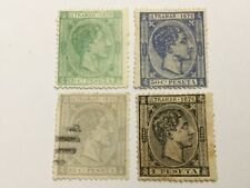 old stamps  CARIBBEAN     x  4  1876