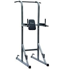 Pull Push Up Bar Dip Stand Workout Rack Machine Gym Fitness Station Equipment