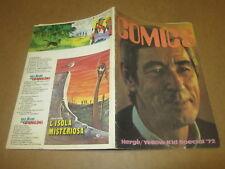 FANZINE DI FUMETTI COMICS N°6 MAGGIO 1973 HERGE' YELLOW KID CREPAX BONVI PRATT