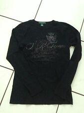 Langarm-Shirt ,schwarz, Gr.XS von Ralph Lauren