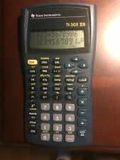 TESTED- Texas Instruments TI-30X IIB Scientific Calculator - Fast Shipping
