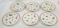 """CARTIER EXCLUSIVE LIMOGES FRANCE Butterfly Dessert Plate, 7.25"""", MINT CONDITION!"""
