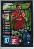 2019-20 Topps UEFA Champions League Match Attax Wonderkids #WKI 14 Kai Havertz
