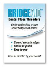 Flossaid TRP30 Bridgeaid Dental Floss Threader 4 pack