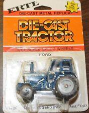ERTL Ford TW-20 Tractor w/ Cab 1/64 Scale Speed Wheels Diecast Metal Replica