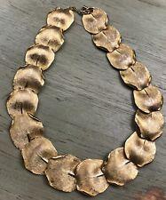 Balenciaga Womens Gold Tone  Curb Chain Choker