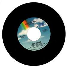 BING CROSBY White Christmas VG+ 45 RPM REISSUE