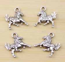12//30//100 pcs  Very lucky  Tibet silver  sea horse charm pendant  34x15 mm