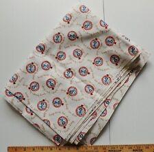 Betty Boop Rare OOP Vintage Fabric 3 Yards Boop Boop Be Doop Pocket Watch