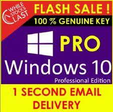 Microsoft Windows 10 Pro 32/64-bit Sistema Operativo🔥INSTANT DELIVERY✔️10S