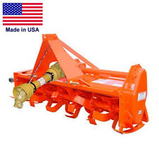 "54"" Rotary Tiller - Cat 1 Hitch - 20 to 35 Hp - 36 Tines - 3 Pto - Commercial"