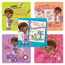 20 Doc McStuffins Boo Boos STICKERS Party Favors Birthday Supplies Treat Bags