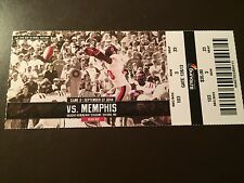 Ole Miss Rebels 2014 NCAA football ticket stub vs Memphis
