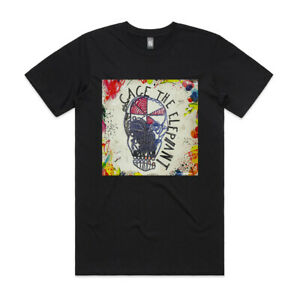 "Cage The Elephant Cage The Elephant Album Cover T-Shirt & 3""x3"" Sticker"