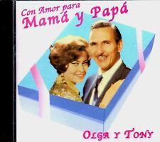 """OLGA Y TONY - """" CON AMOR PARA MAMA Y PAPA"""" - CD"""