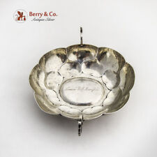 Samson Wolf Rosenfeld Ornate Wine Tasting Bowl Augsburg XVI Century 813 Silver
