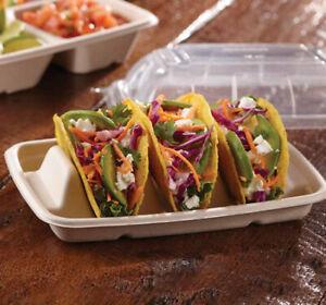 Taco holder compostable Tray 300 pcs