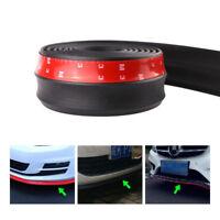 2.5M Car Front Bumper Lip Splitter Chin Spoiler Skirt Safety Rubber Protector