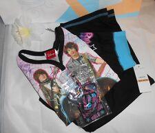Disney Camp Rock Two (2) Piece Short Sleeve Pajama Set + Backstage Pass M/7-8