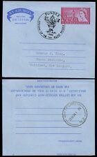 GB STATIONERY AIRLETTER 1966 TAY BRIDGE SCOTLAND SPECIAL PMK...GEORGE KING