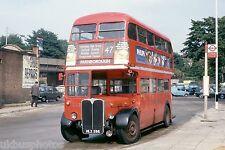 London Transport RT449 Lewisham Aug 1978 Bus Photo B