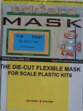 Eduard 1/48 EX041 Canopy Mask for the Hasegawa Sikorsky SH-3/S-61 Sea King kit