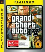 GTA Grand Theft Auto 4 IV PS3 Game USED