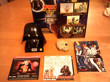 STAR WARS/6 PROMO ITEMS/DARTH VADER PHONEHOLDER/MILLENIUM FALCON ELECTRONIC GAME