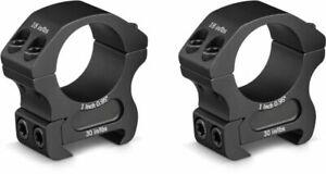 """Vortex PR1-M 1"""" Riflescope Rings - Medium Height - Black"""