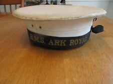 Named Vintage Royal British Navy Hms Ark Royal Hat