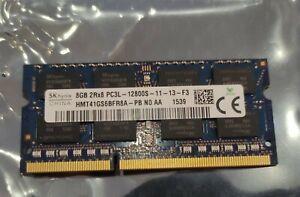 SK-HYNIX 8GB DDR3L 1600MHz Laptop RAM • PC3L-12800S SODIMM 204pin (read descrip)