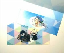 Yuri on Ice Ticket Case File Folder set of 2 Drawn by Kubo Mitsurou Not For Sale