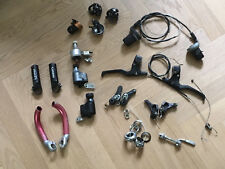 Konvolut Shimano Mountain LX Bremshebel, Grip Shift 3x7, Steuersatz, Ersatzteile