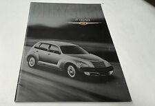 2001 CHRYSLER PT CRUISER  Australian Sales Brochure