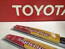 Toyota FJ Cruiser Replacement (2) Blades FRONT Genuine SightLine Wiper Blade Set