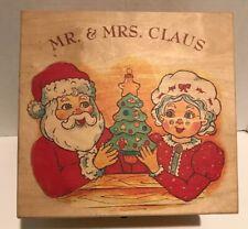Kurt Adler'S Polonaise Christmas Mr Mrs Claus Ornaments Box Set By Komozja Rare
