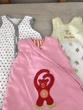 Baby Girl Sleeping Bags Bundle X3 Aged 0-6 Months 2.5 Tog (P1)