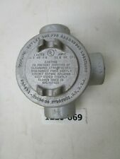 """NEW Crouse-Hinds Condulet GUAB 47 Explosion Proof 1-1/4 """"L"""" 3 Way Junction"""