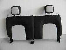 Rückenlehne Sitz hinten Original Smart W 453 ForFour schwarz-weiss Nr:91775
