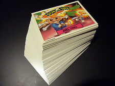 TRASH CAN TROLLS 1992 88-CARD SET & WRAPPER +PROMO! garbage pail kids adam bomb