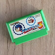 Rockman 3 Megaman Famicom NES en Loose Nintendo Capcom