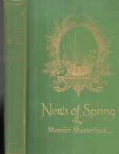 News of Spring by Maurice Maeterlinck. Illustrated by Ed. J. Detmold. N,.Y. 1917
