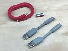UP24 Jawbone Bluetooth Activity Tracker Red Large Used w/Extra Charging Dongle!